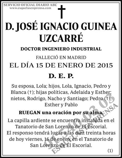 José Ignacio Guinea Uzcarré